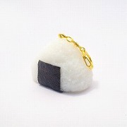 Onigiri (Rice Ball) (large) Keychain - Fake Food Japan