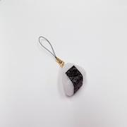 Onigiri (Rice Ball) (small) Cell Phone Charm/Zipper Pull - Fake Food Japan