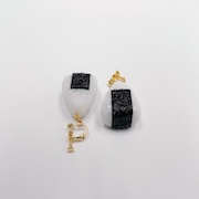 Onigiri (Rice Ball) (small) Clip-On Earrings - Fake Food Japan