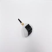 Onigiri (Rice Ball) (small) Headphone Jack Plug - Fake Food Japan