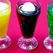 Orange, Coffee & Melon Float Replica - Fake Food Japan