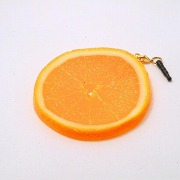 Orange Slice Headphone Jack Plug - Fake Food Japan