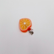 Orange Slice (Heart-Shaped) Hair Clip - Fake Food Japan
