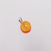 Orange Slice (small) Hair Clip - Fake Food Japan