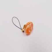 Orange (small) Ver. 1 Cell Phone Charm/Zipper Pull - Fake Food Japan