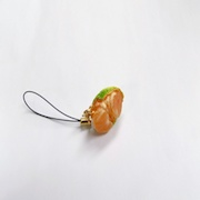 Orange (small) Ver. 4 Cell Phone Charm/Zipper Pull - Fake Food Japan