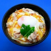 Oyako-don (Rice Bowl with Chicken & Egg) Ver. 2 Replica - Fake Food Japan