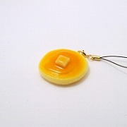 Pancake Cell Phone Charm/Zipper Pull - Fake Food Japan