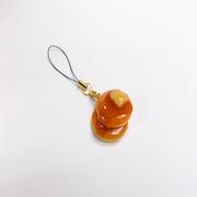 Pancake (mini) Cell Phone Charm/Zipper Pull - Fake Food Japan