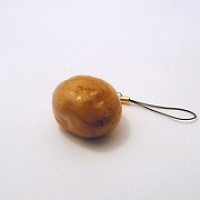 Potato (small) Cell Phone Charm/Zipper Pull - Fake Food Japan