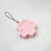 Rakugan Sakura Cell Phone Charm/Zipper Pull - Fake Food Japan