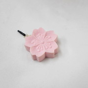 Rakugan Sakura Headphone Jack Plug - Fake Food Japan
