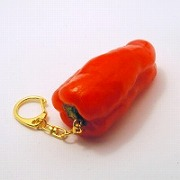 Red Pepper Keychain - Fake Food Japan