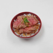 Roast Beef & Rice Mini Bowl - Fake Food Japan
