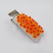 Salmon Roe Rice (large) Hair Clip - Fake Food Japan