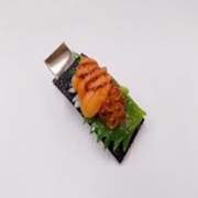 Salmon Roe & Sea Urchin (large) Hair Clip - Fake Food Japan