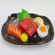 Sashimi (Raw Fish) Replica - Fake Food Japan