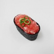 Scallion & Tuna Battleship Roll Sushi Magnet - Fake Food Japan