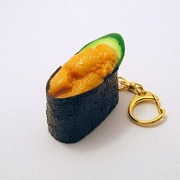 Sea Urchin Battleship Roll Sushi Keychain - Fake Food Japan