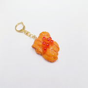 Sea Urchin & Salmon Roe Keychain - Fake Food Japan