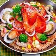 Seafood Paella Replica - Fake Food Japan