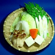 Shabu Shabu Nabe (Hotpot) Assorted Vegetables Ver. 2 Replica - Fake Food Japan