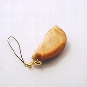 Shiitake Mushroom Cell Phone Charm/Zipper Pull - Fake Food Japan