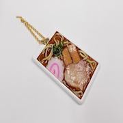 Shoyu (Soy Sauce) Ramen Pass Case with Charm Bracelet - Fake Food Japan