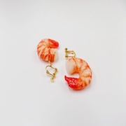 Shrimp (mini) Clip-On Earrings - Fake Food Japan