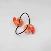 Shrimp (mini) Hair Band (Pair Set) - Fake Food Japan