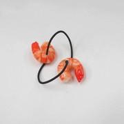 Shrimp (mini) Hair Band (Pair Set) - Fake Food Japan