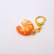 Shrimp (small) Keychain - Fake Food Japan