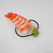 Shrimp Sushi with Wasabi Hair Band - Fake Food Japan