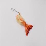 Shrimp Tail Tempura Cell Phone Charm/Zipper Pull - Fake Food Japan