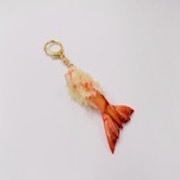 Shrimp Tail Tempura Keychain - Fake Food Japan