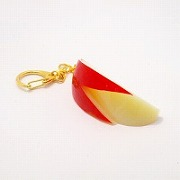 Sliced Apple (medium) Keychain - Fake Food Japan