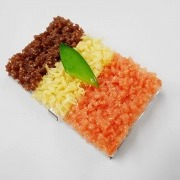 Soboro (Soy Sauce Minced Meat) Rice Business Card Case - Fake Food Japan
