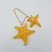 Star Fruit (large & small) Bag Charm - Fake Food Japan
