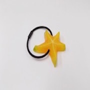 Star-Shaped Fruit (small) Hair Band - Fake Food Japan