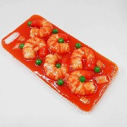 Stir-Fried Shrimp with Chili Sauce iPhone 8 Plus Case - Fake Food Japan
