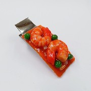 Stir-Fried Shrimp with Chili Sauce (large) Hair Clip - Fake Food Japan