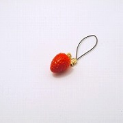 Strawberry Cell Phone Charm/Zipper Pull - Fake Food Japan