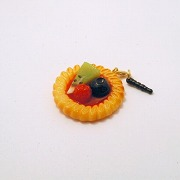 Strawberry Sauce-Filled Kiwi, Raspberry & Blueberry Cookie Headphone Jack Plug - Fake Food Japan