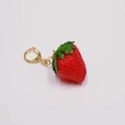 Strawberry with Stem Keychain - Fake Food Japan
