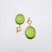 Sudachi (small) Clip-On Earrings - Fake Food Japan
