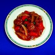Sweet & Sour Pork Replica - Fake Food Japan