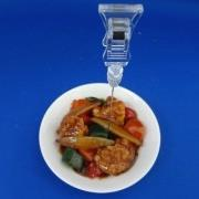 Sweet & Sour Pork Small Size Replica - Fake Food Japan