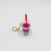Sweet Potato Tapioca Drink (mini) Keychain - Fake Food Japan