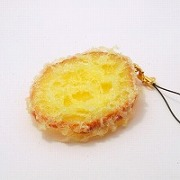Sweet Potato Tempura Cell Phone Charm/Zipper Pull - Fake Food Japan