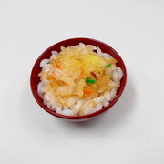 Ten-don (Rice with Tempura) Mini Bowl - Fake Food Japan